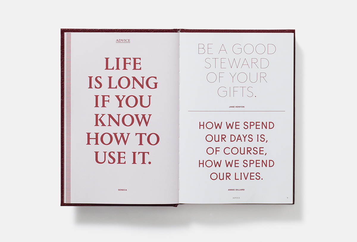 Not just another book of trite quotes – Creative Review