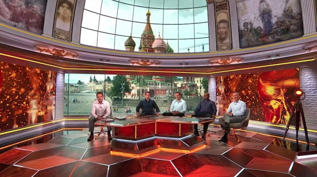 Creating ITV's 'Cathedral of Football' World Cup studio - Creative Review