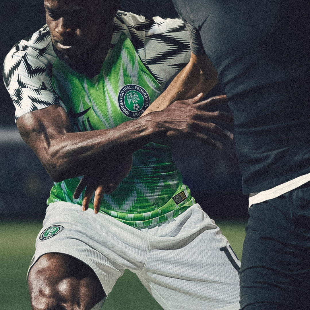 timeless design 34102 eb4ff Designing the Nigeria 2018 World Cup kit