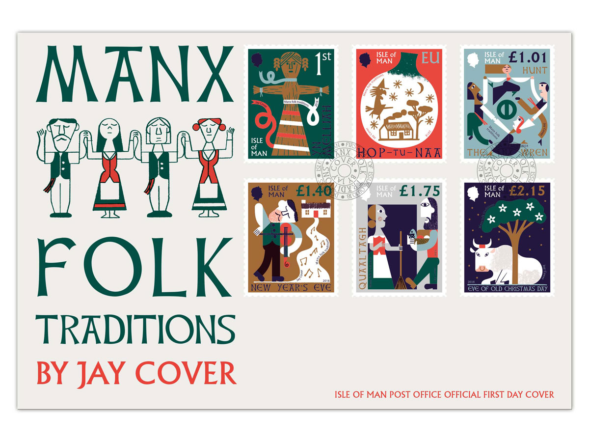 Isle of Man\'s new stamps celebrate of the island\'s fascinating folklore