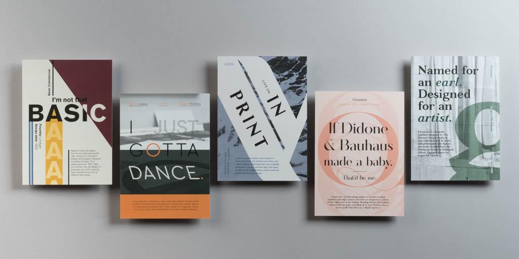 Survey reveals designers' favourite typefaces