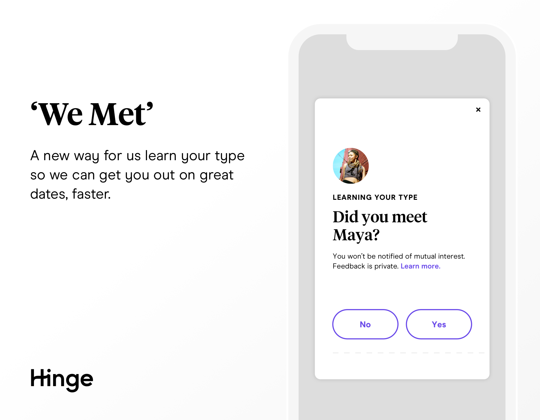 How Hinge hopes to resist the gamification of dating