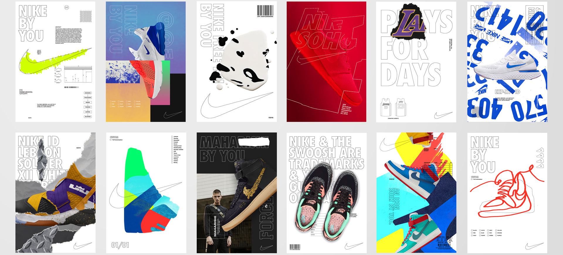 62a08178f Nike ID rebrands as Nike By You - Creative Review