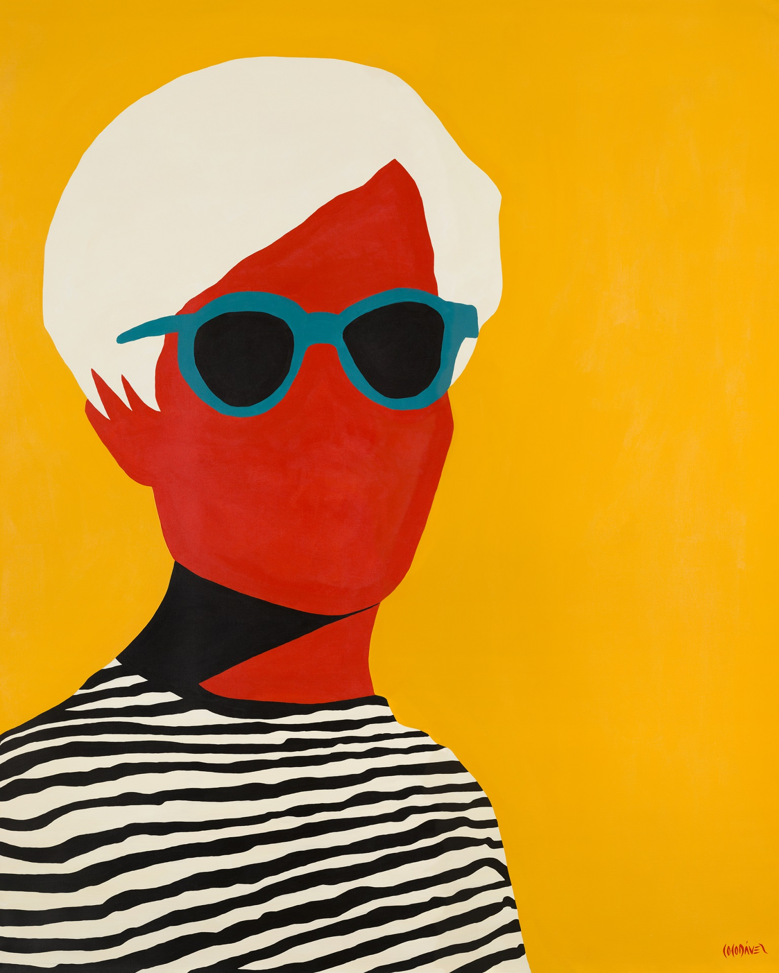 Andy Warhol by Coco Dávez