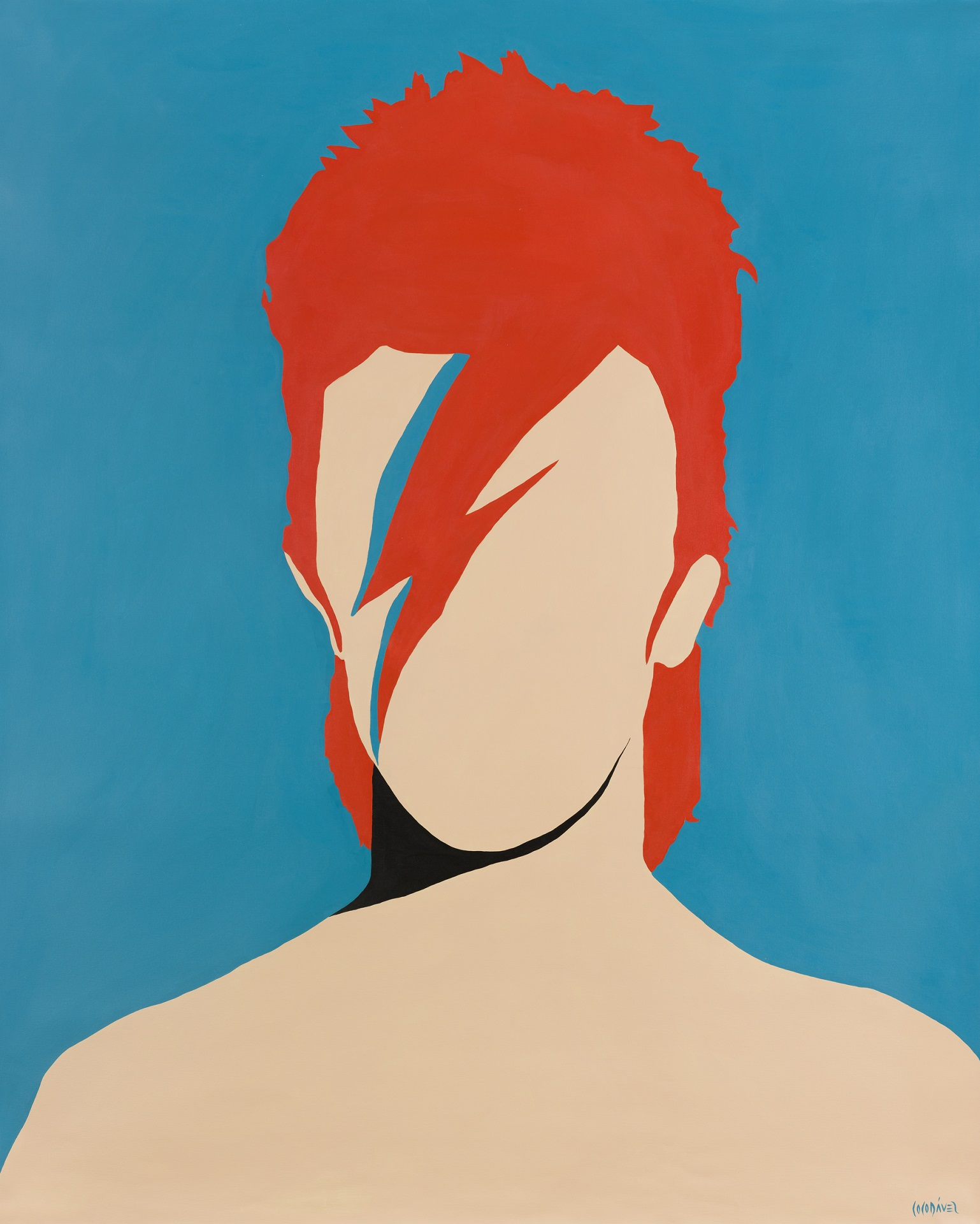 David Bowie by Coco Dávez