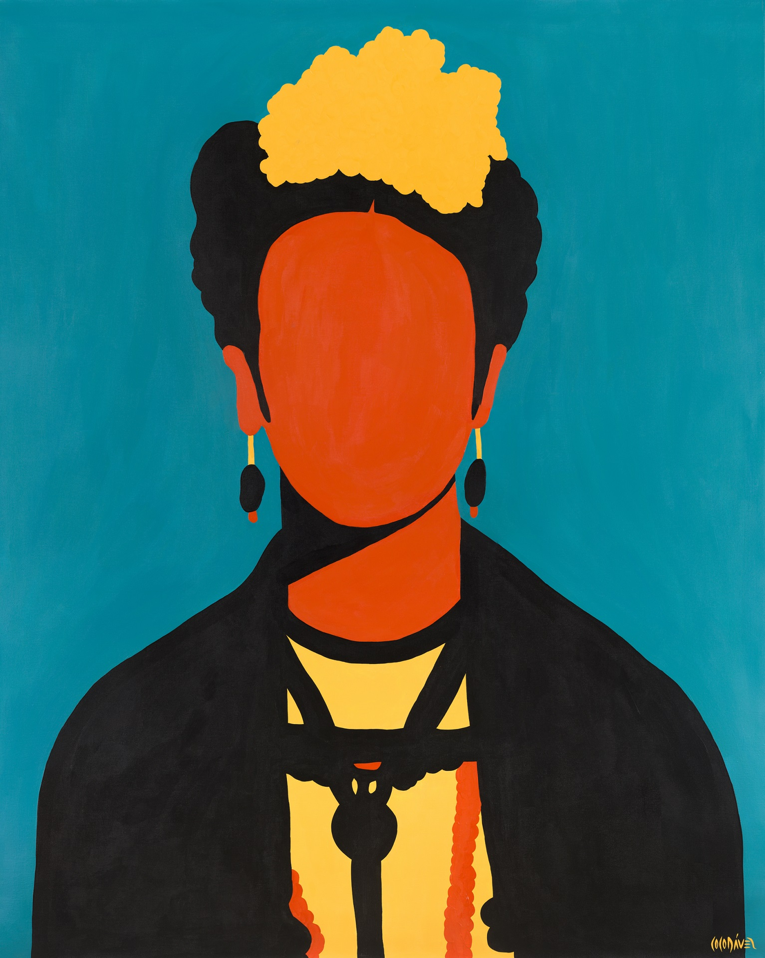 Frida Kahlo by Coco Dávez