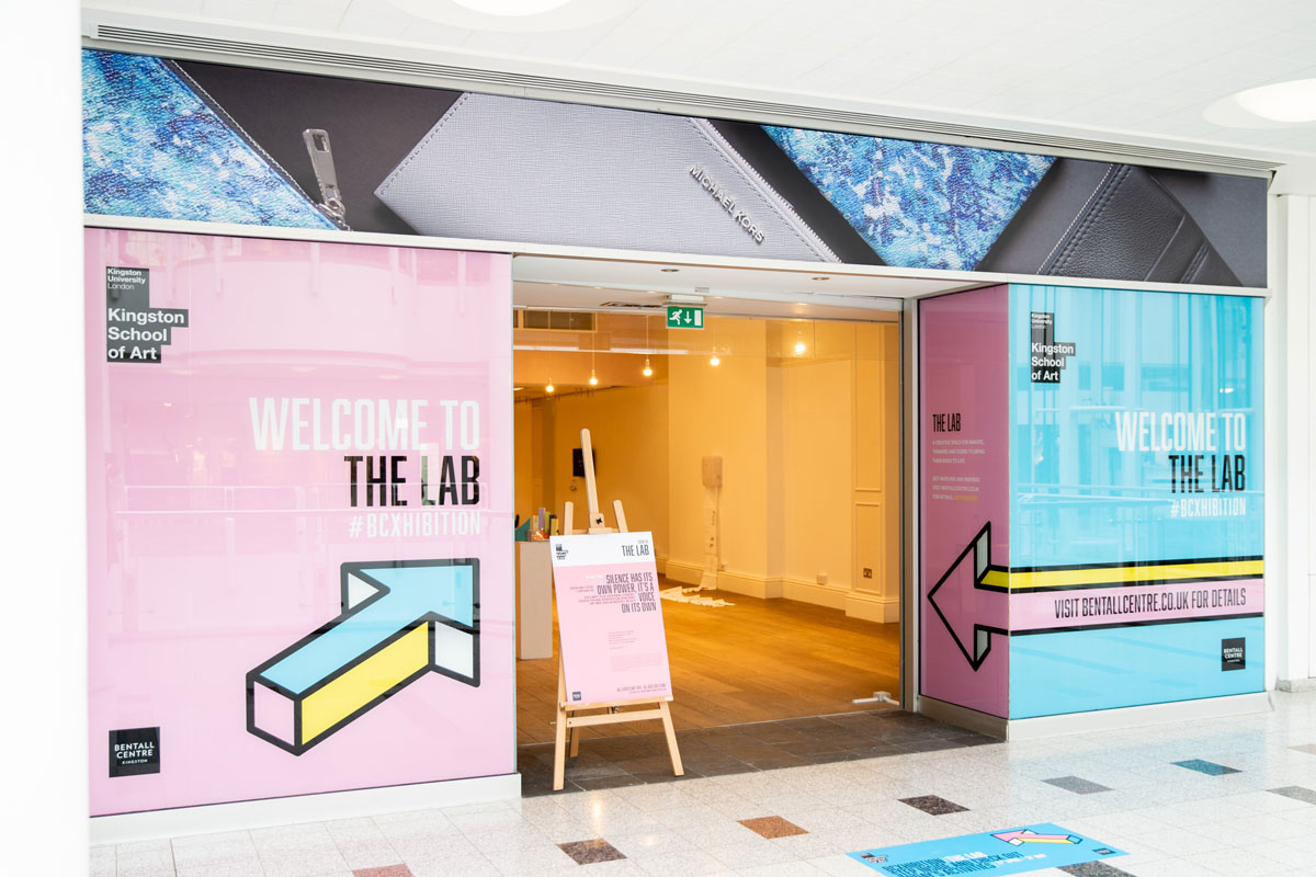 Kingston School of Art combines shopping and creativity in new pop-up
