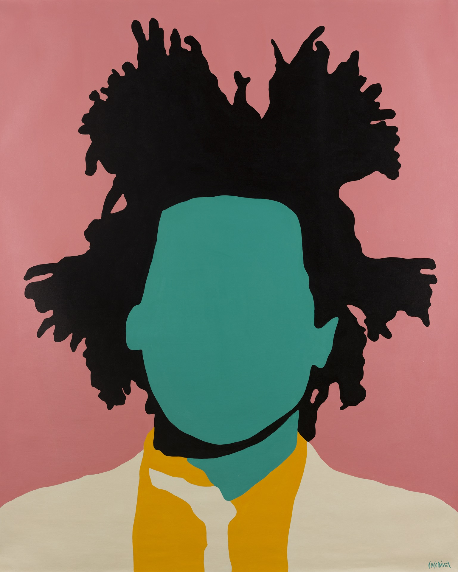 Jean-Michel Basquiat by Coco Dávez