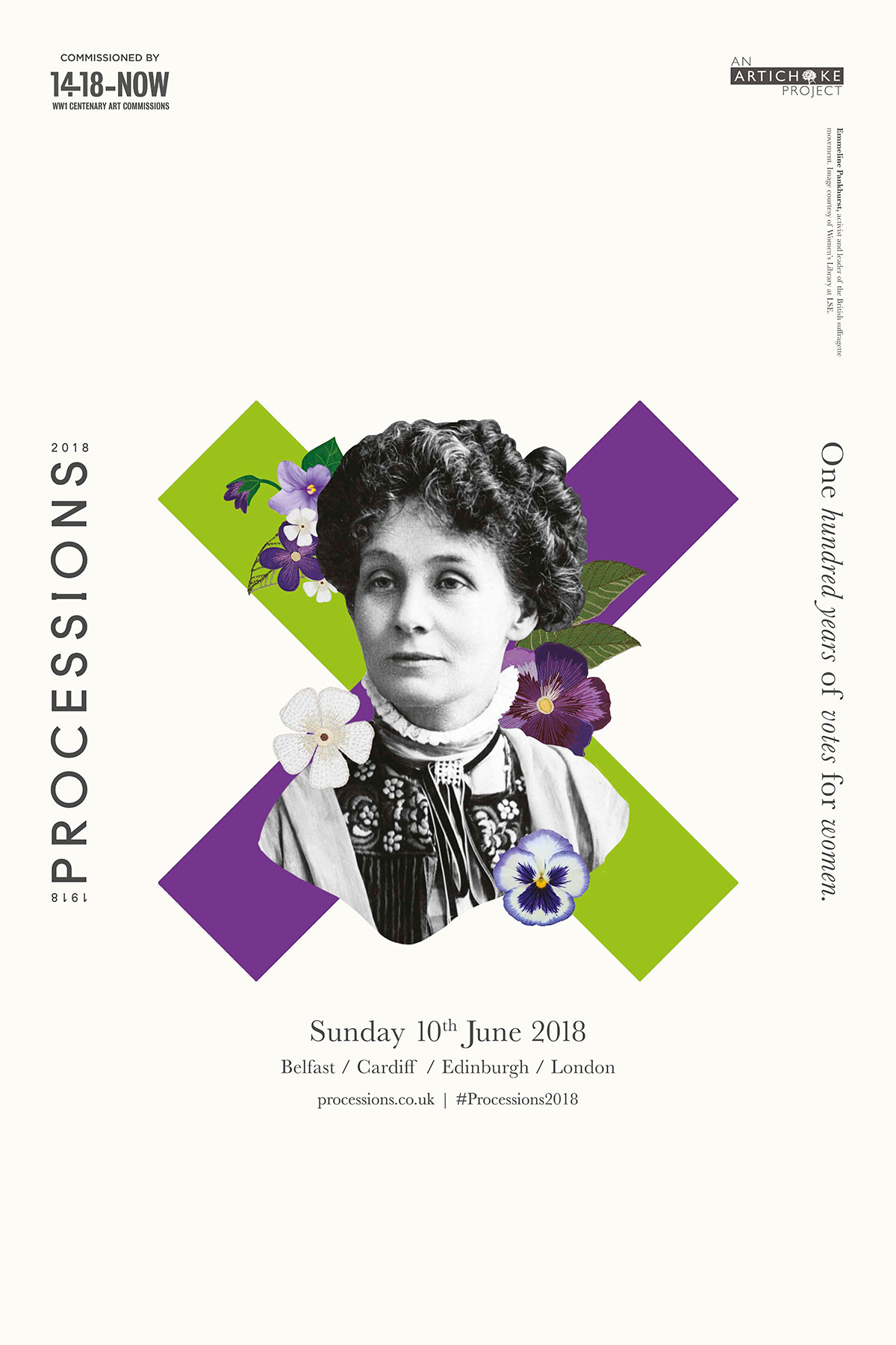 Identity for Processions by Grey London – Creative Review