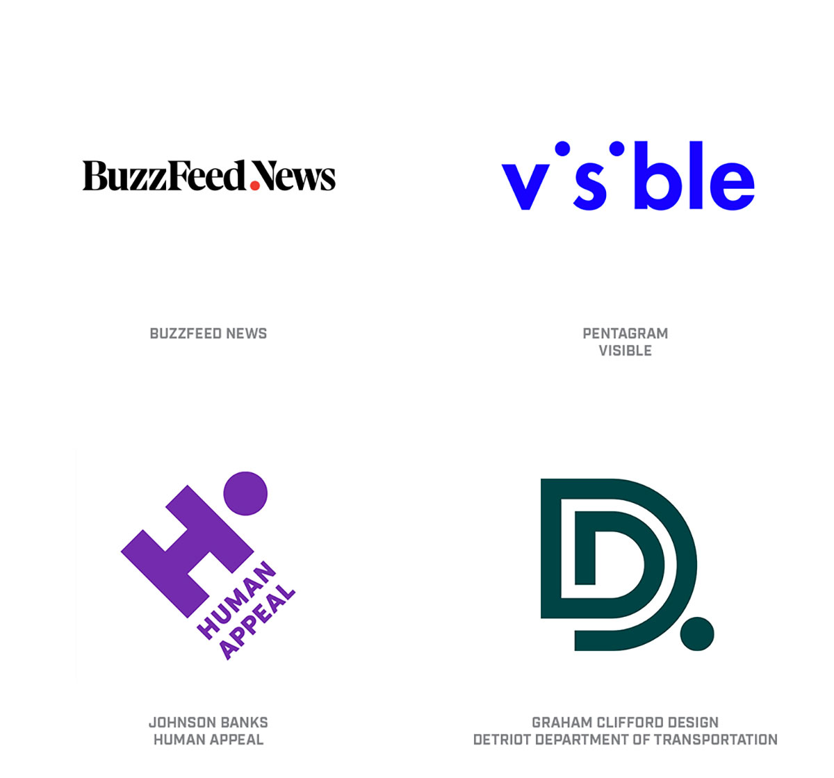 2019 logo trend report from Logolounge - Creative Review