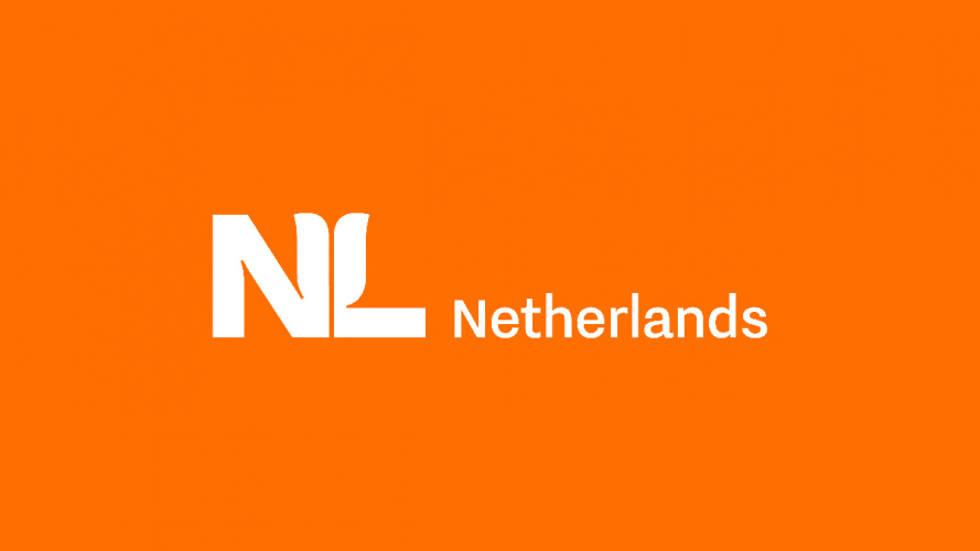Studio Dumbar designs the new international logo for the Netherlands