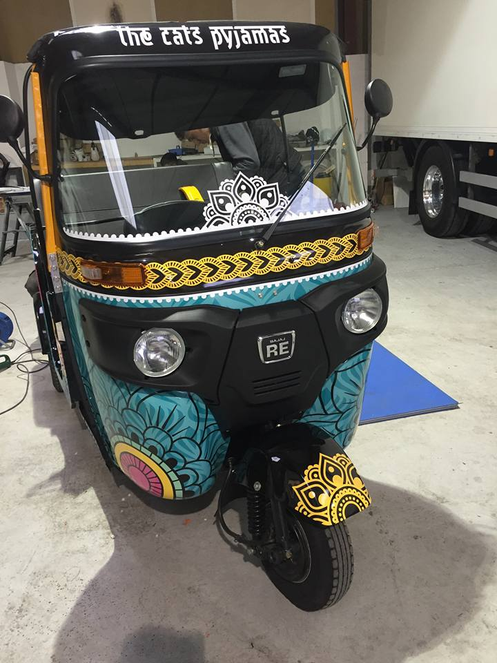 Cat's Pyjamas-tuk tuk