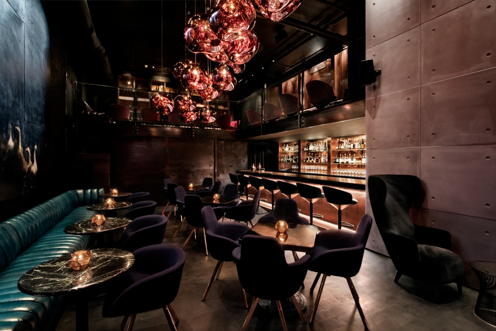 Visualisation of Himitsu bar. © Emily Andrews