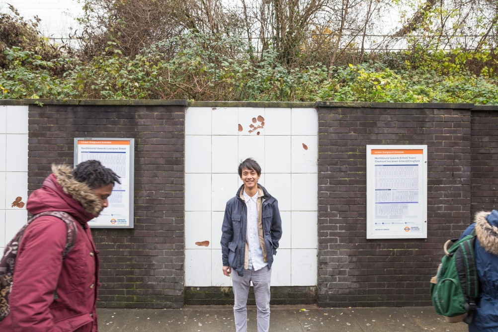 Mathew Leung, Assemble at Seven Sisters station for Art on the Underground (c) Benedict Johnson (8)