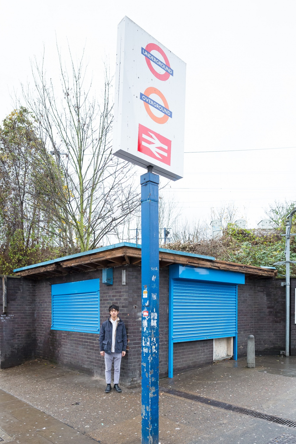 Mathew Leung, Assemble at Seven Sisters station for Art on the Underground (c) Benedict Johnson
