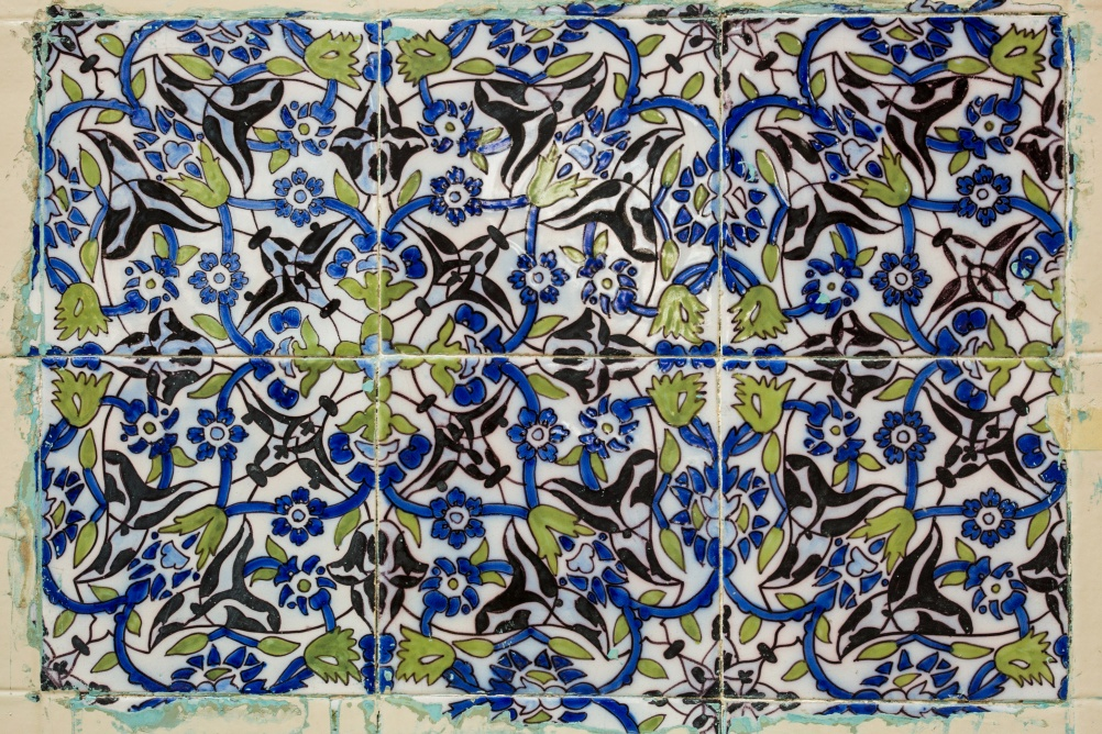 Andy Lord - Library Detail, Original Tiles
