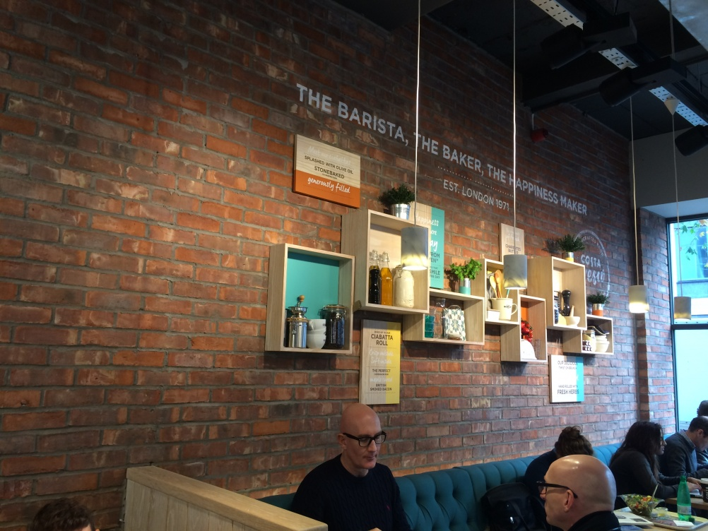 Costa Launches New Concept Cafe Focused On Food on cafeteria interior design