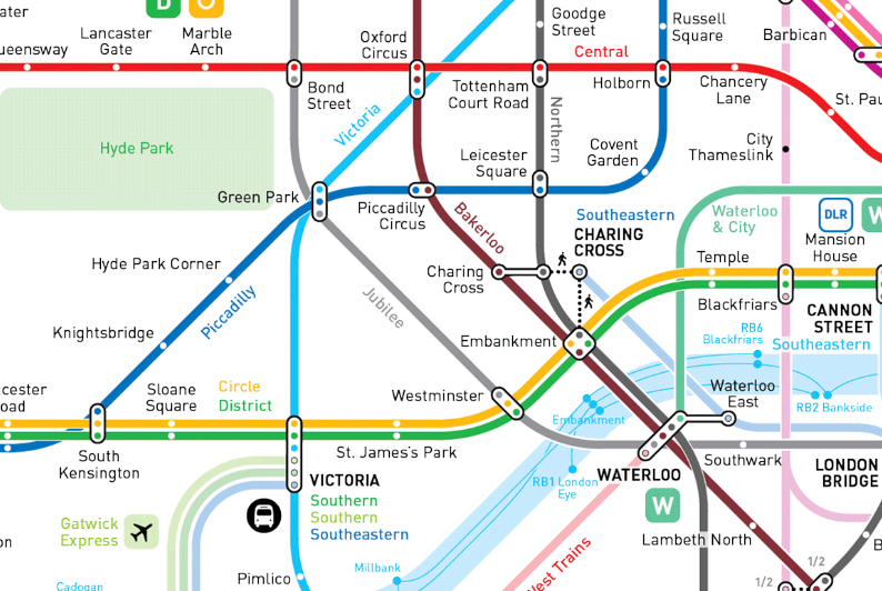 Better Than Beck Six Bids To Redesign The London Tube Map