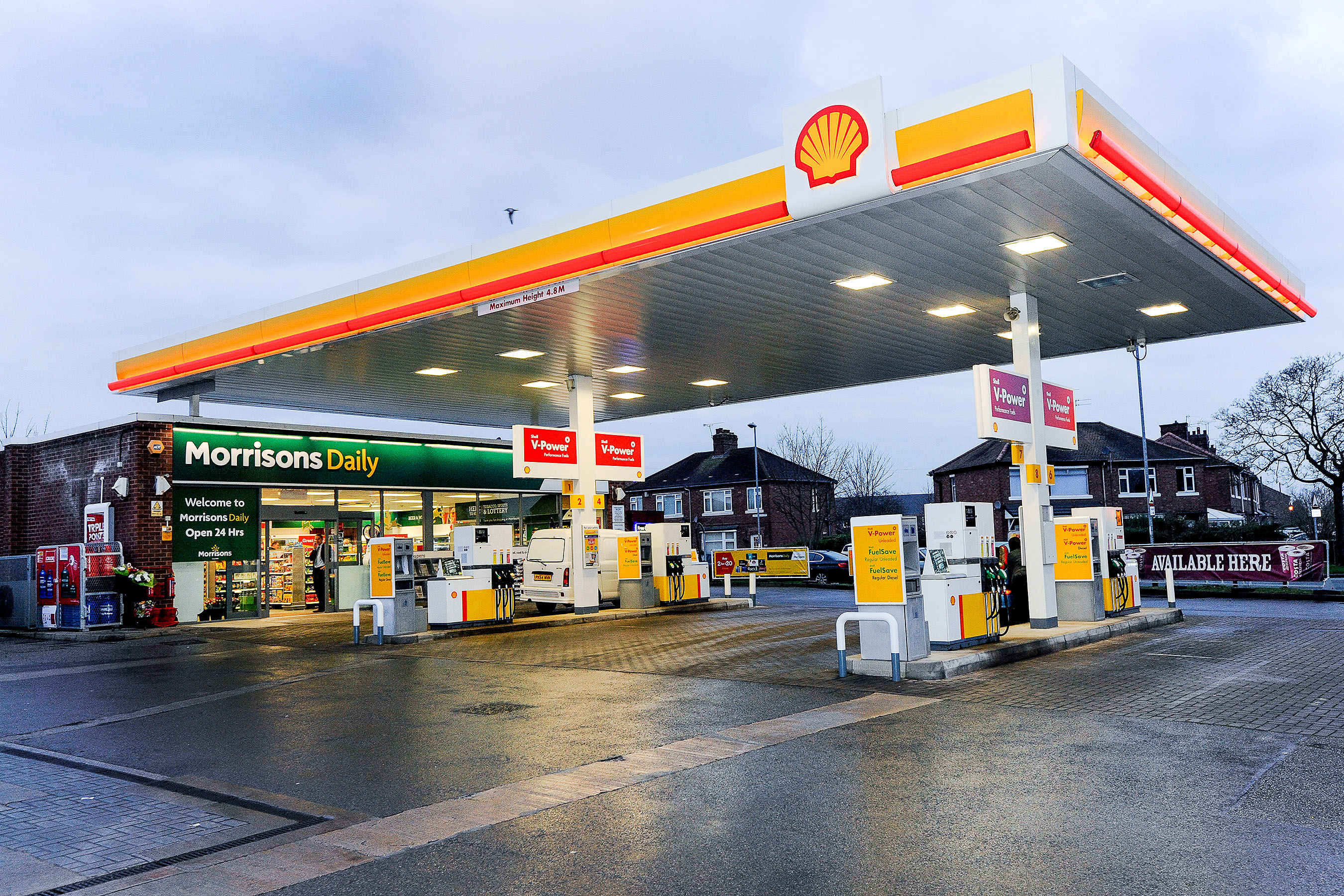 Morrisons trials new convenience concept morrisons daily for Daily design news