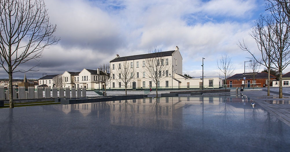 Ebrington Barracks, Derry, where the new maritime museum is set to be placed. Cropped, © Greg Clarke