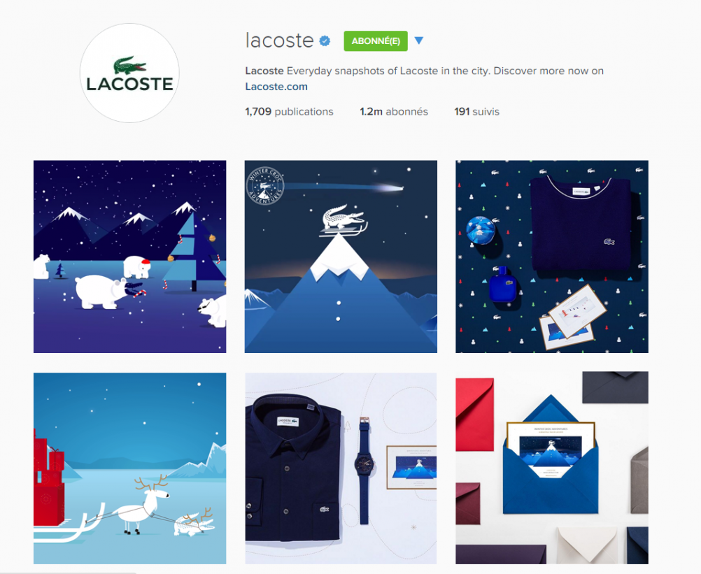 INSTAGRAM LACOSTE WINTER CROC ADVENTURES 2
