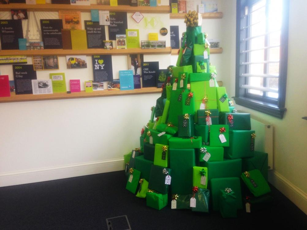 Christmas tree, by Elmwood