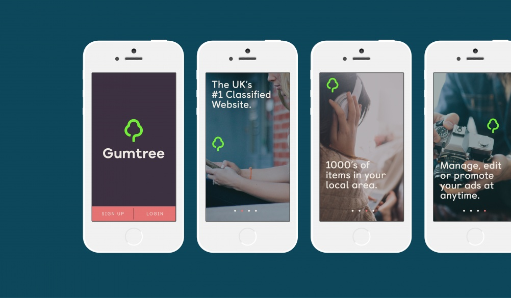 Exhibition Stand Gumtree : Gumtree in first major rebrand since launch design week