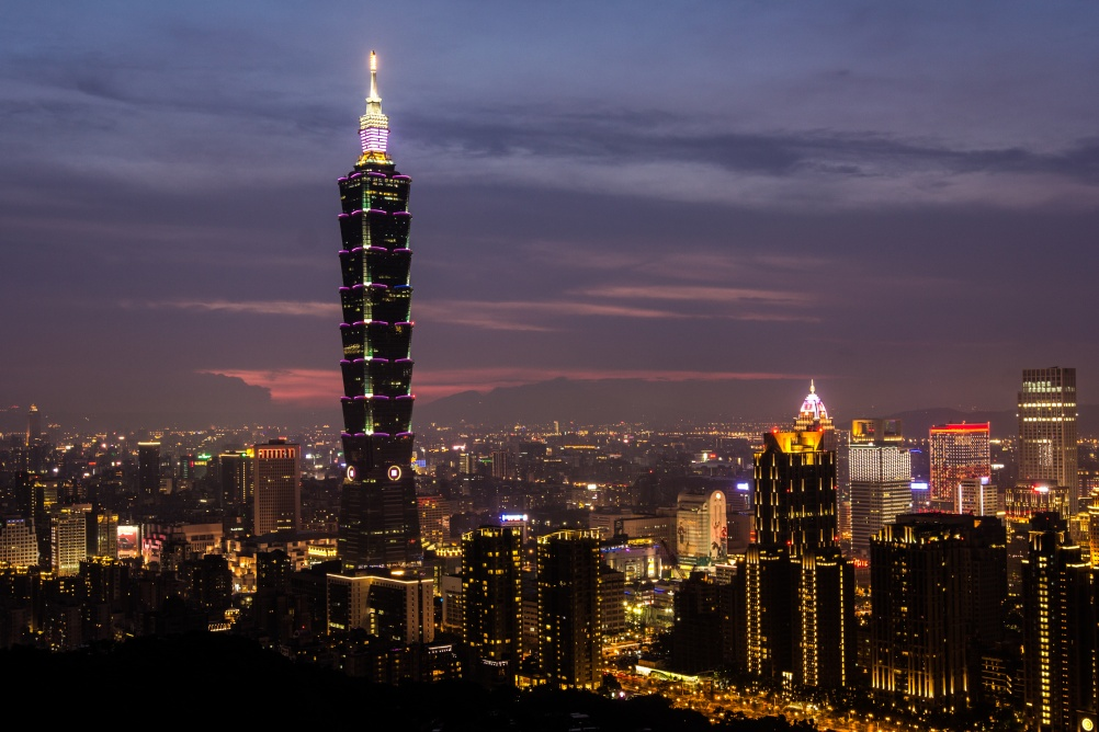 Taipei, Taiwan. Courtesy of Flickr user sese_87