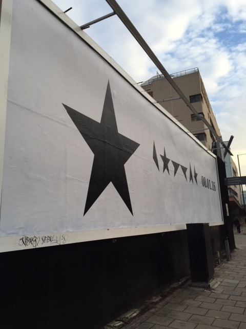 Blackstar outside advertising