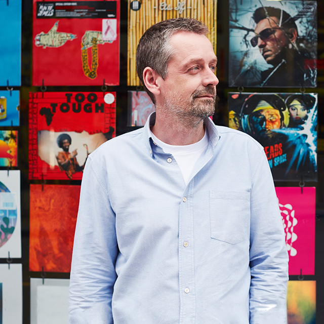 David Simpson, chief executive and executive creative director, Music
