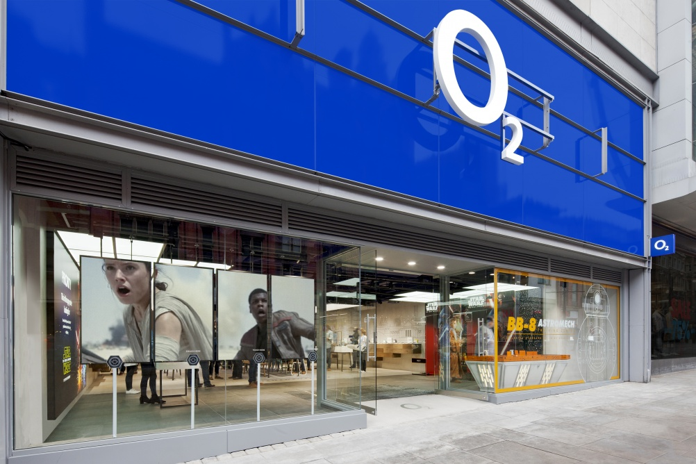 o2 launches new interactive store concept design week. Black Bedroom Furniture Sets. Home Design Ideas
