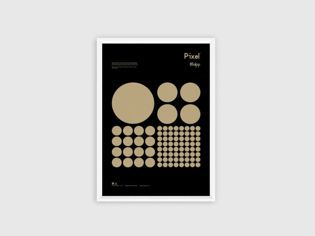 white-pixelposter-five