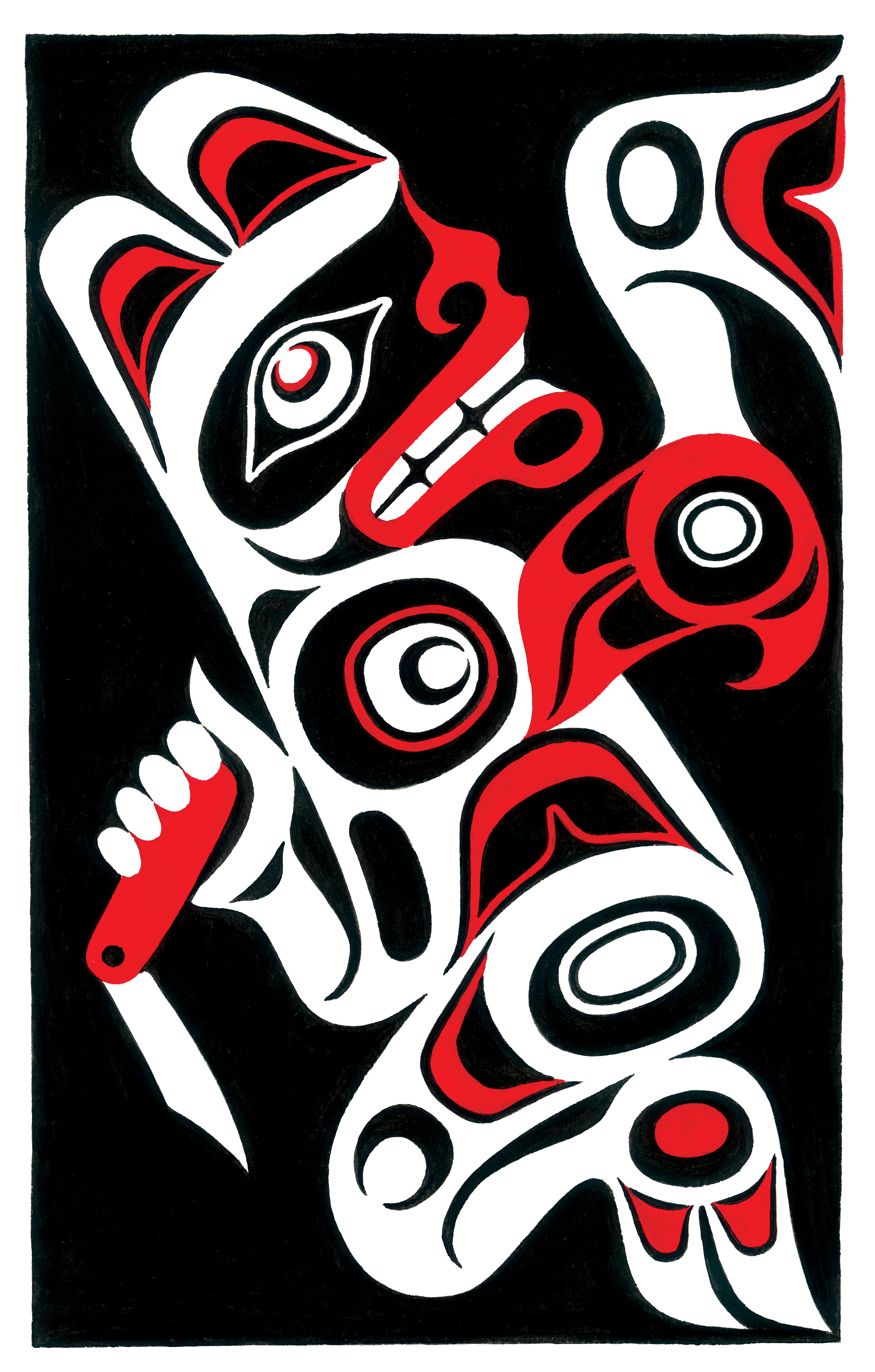 a story as sharp as a knife the classical haida mythtellers and their world