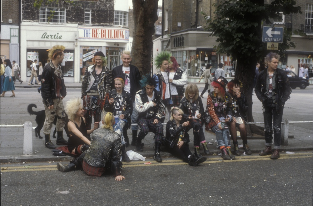 Kings Road, London 1983 - © Ted Polhemus