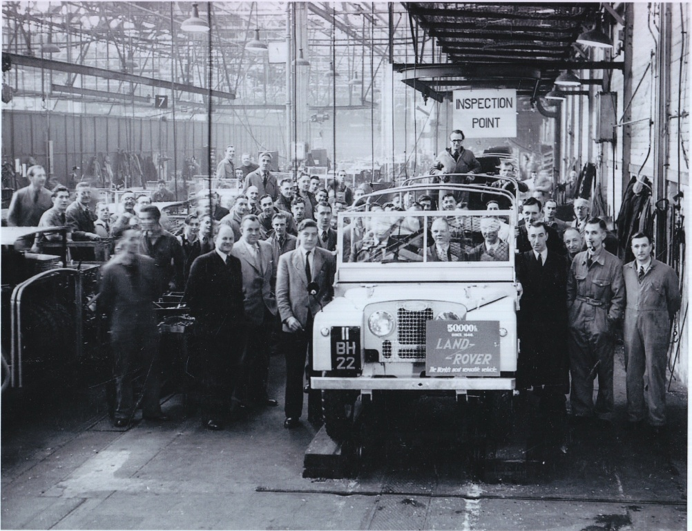 Land_Rover_Milestone_50,000th_1952