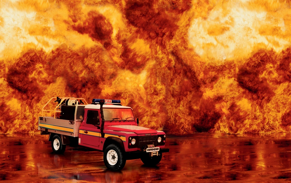single cab fire tender