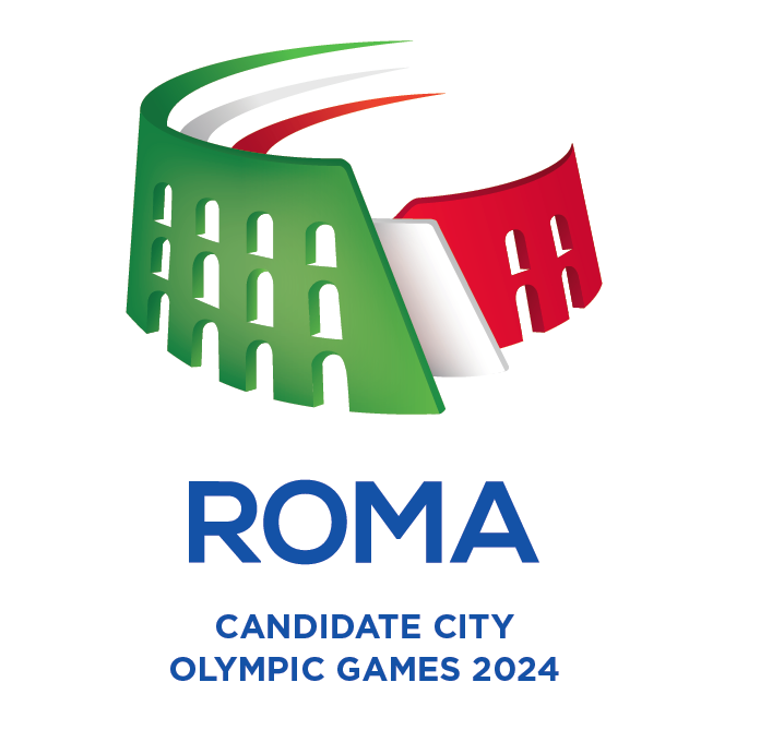 Rome's logo, designed in-house