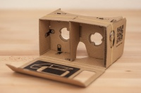 Google's open-source VR headset Google Cardboard