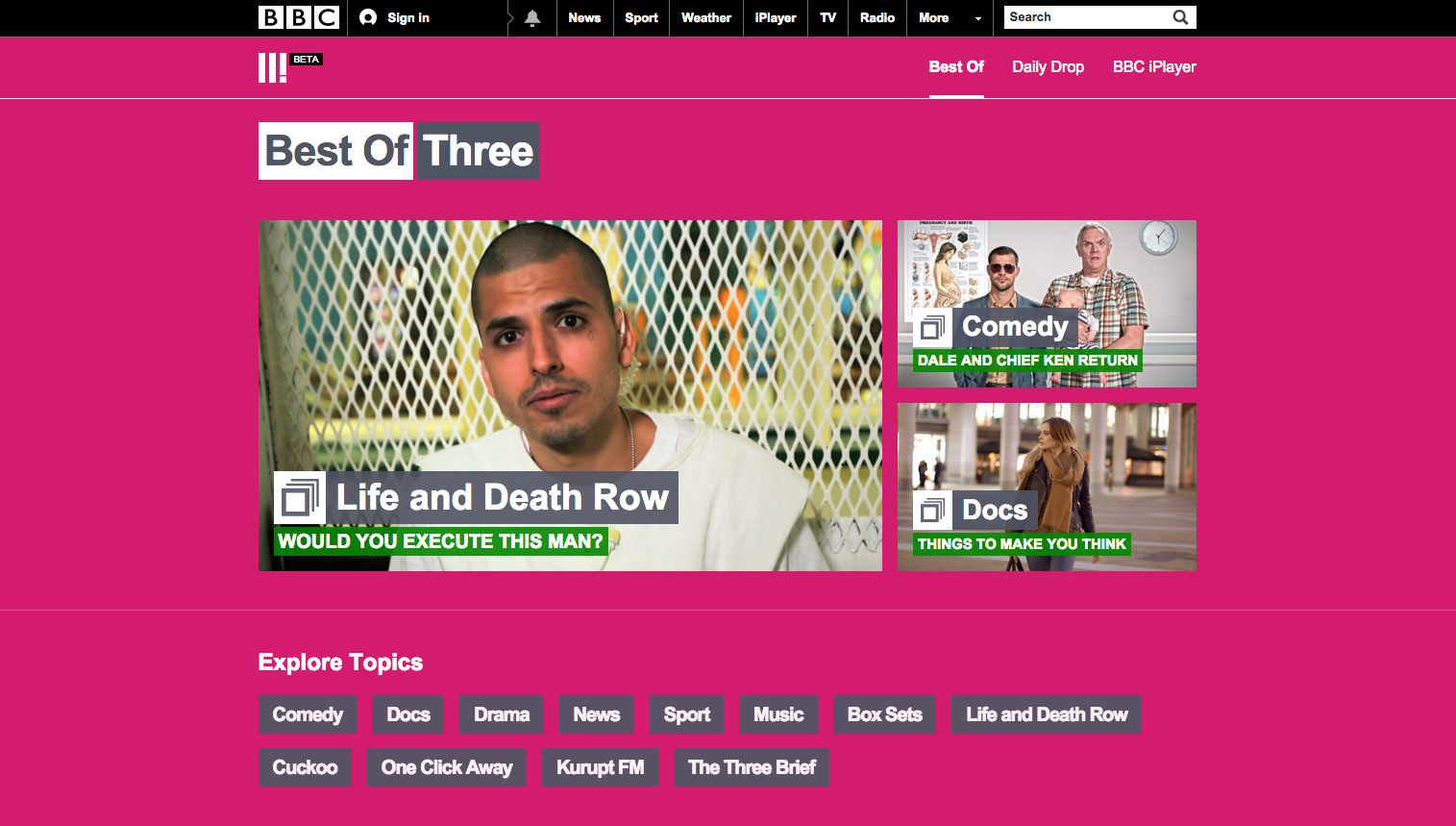 BBC Three goes online-only with new platforms | Design Week