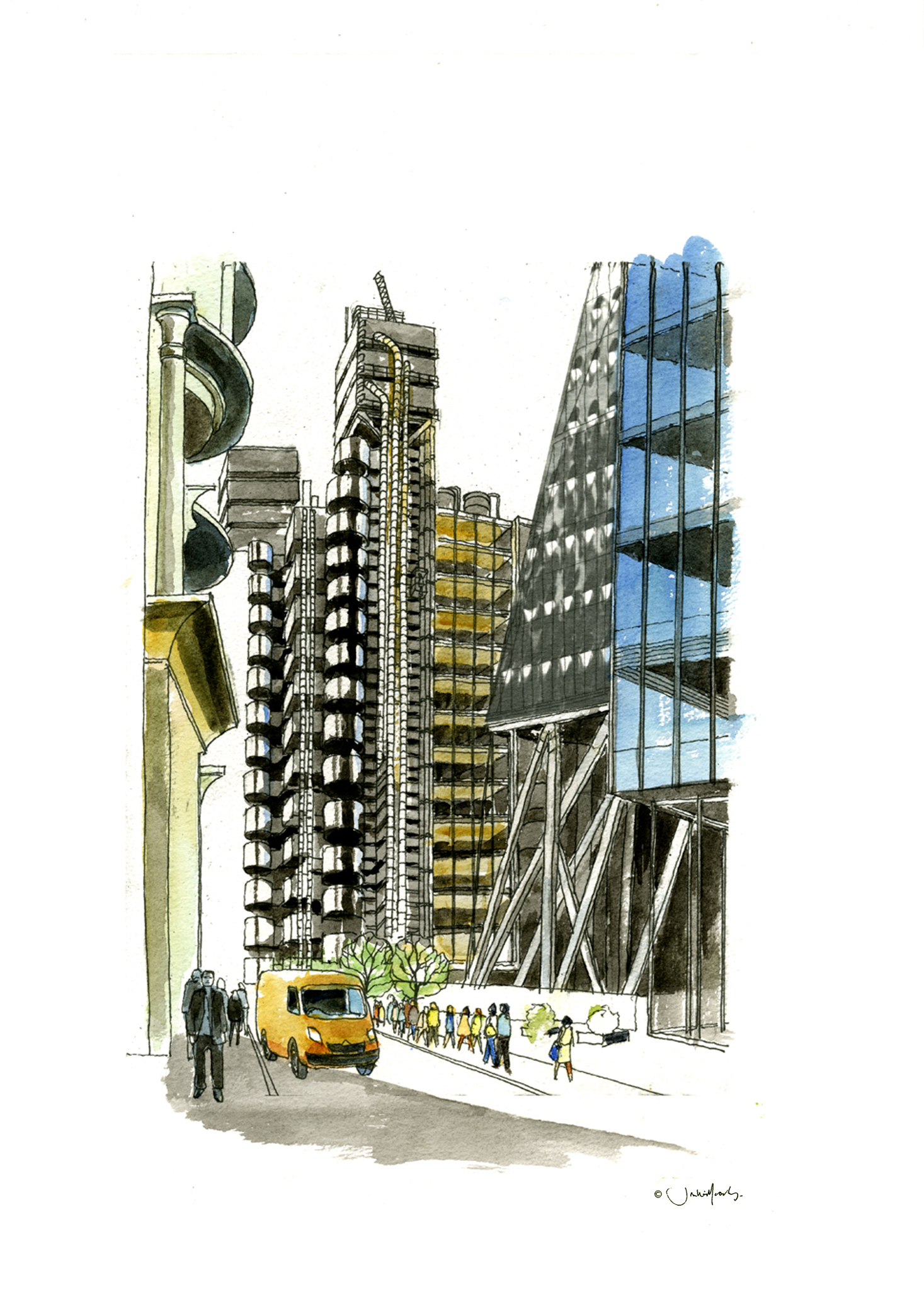 Lloyds Building, by Jon Willcocks