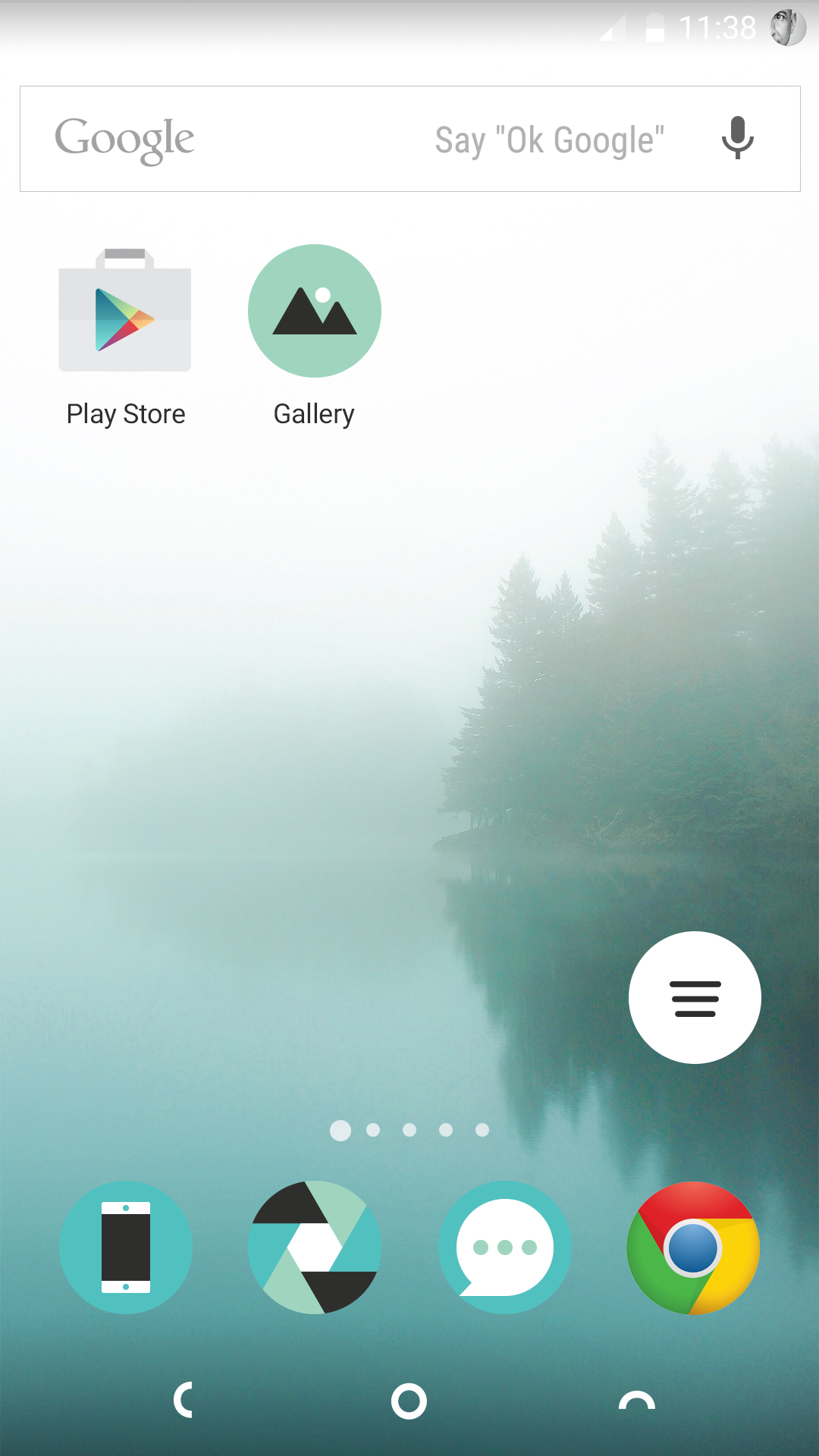 Homescreen