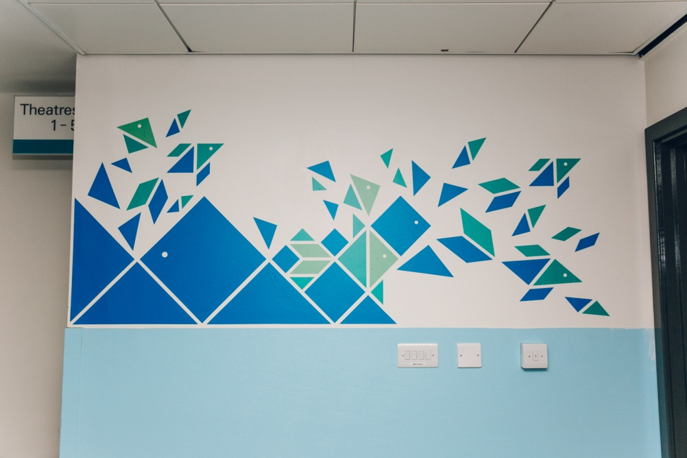 Sheffield Children S Hospital Wall Designs By Thomas Matthews