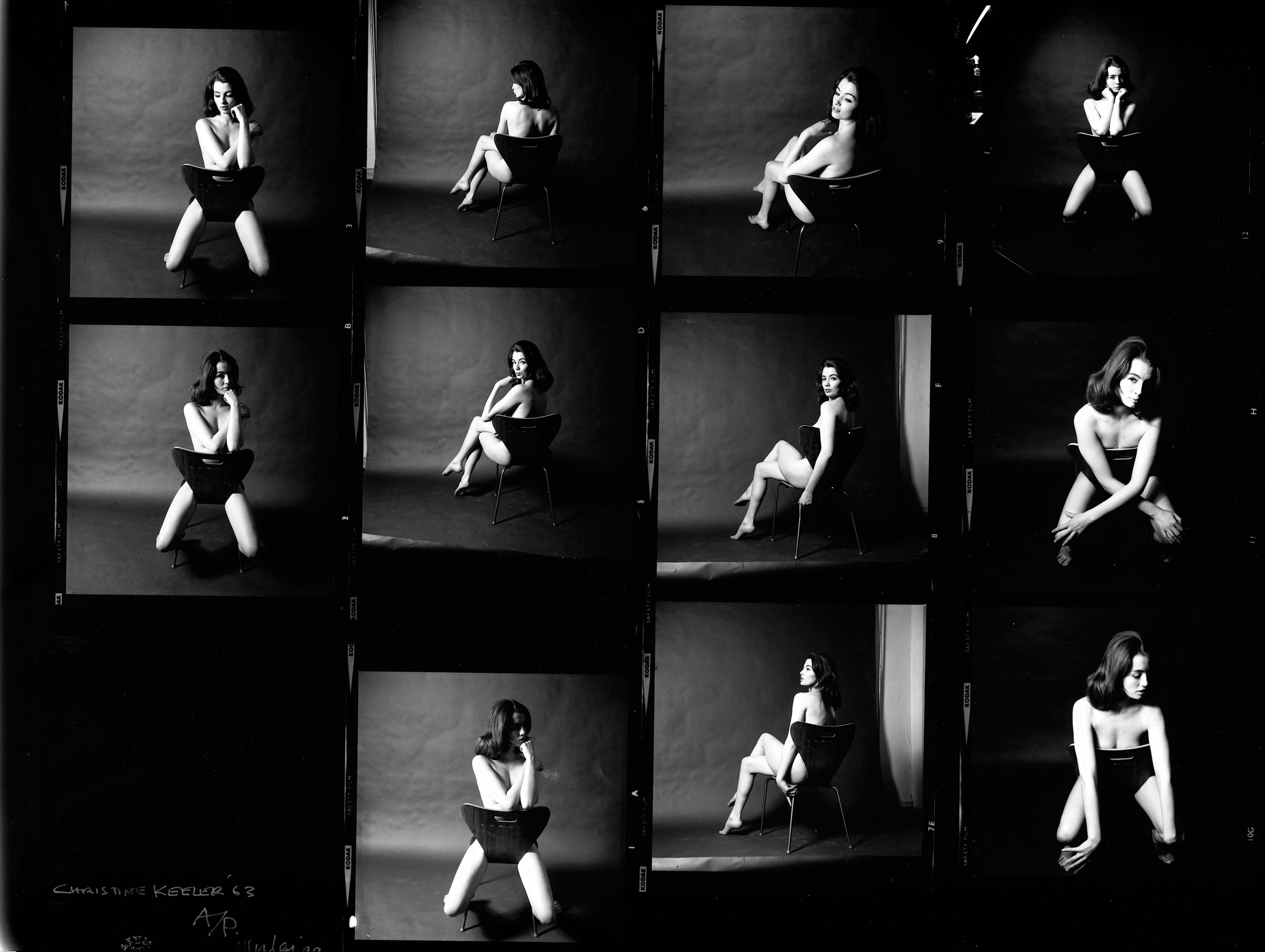 Christine Keeler photographs by Lewis Morely, 1963. Science Society Picture Library