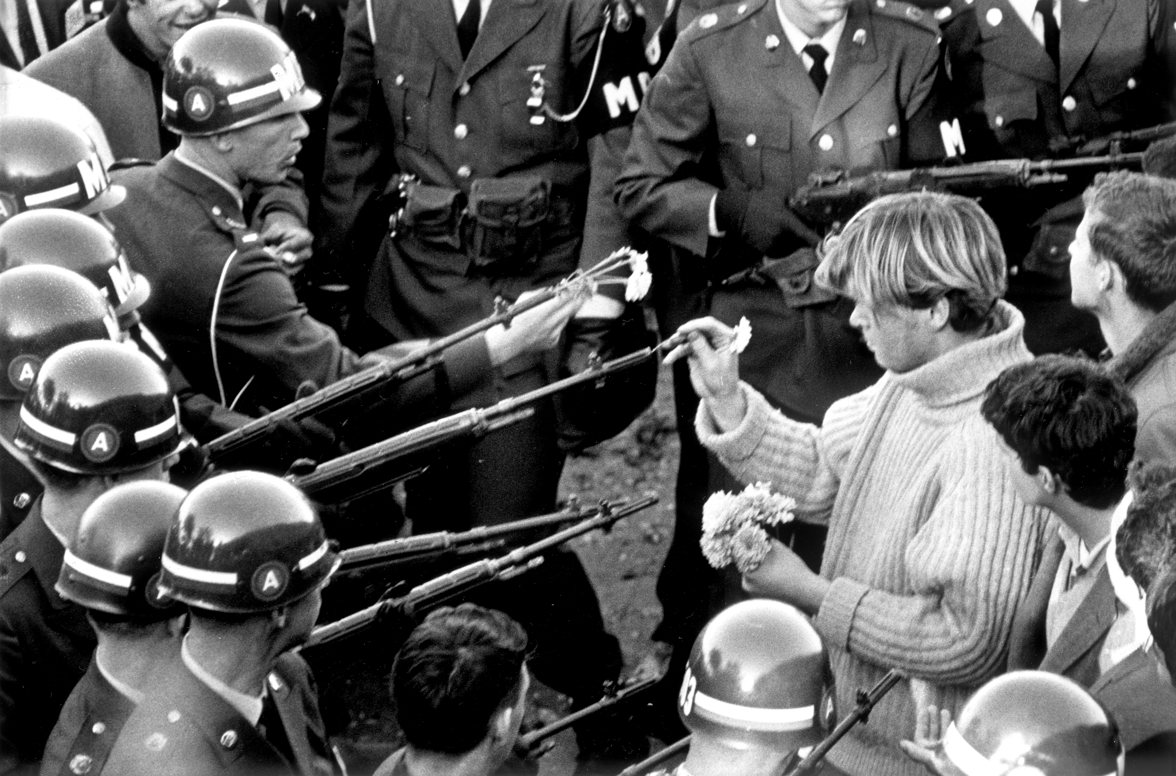 October 26 1967: Antiwar demonstrators, Pentagon Building. Getty Images