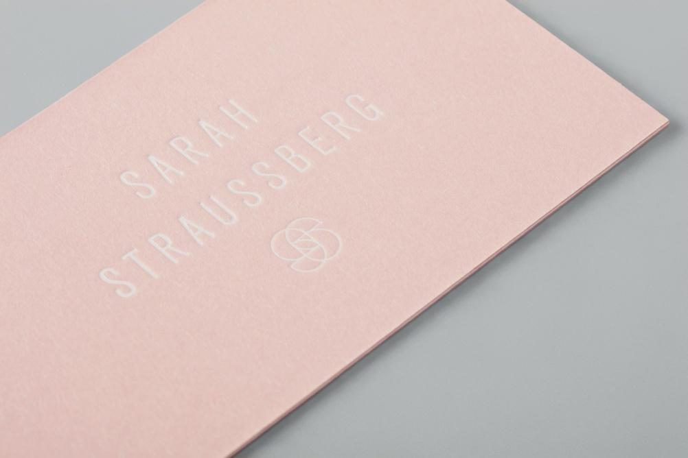 Sarah Straussberg - Brand Identity by Stevie Wilcox Image 12