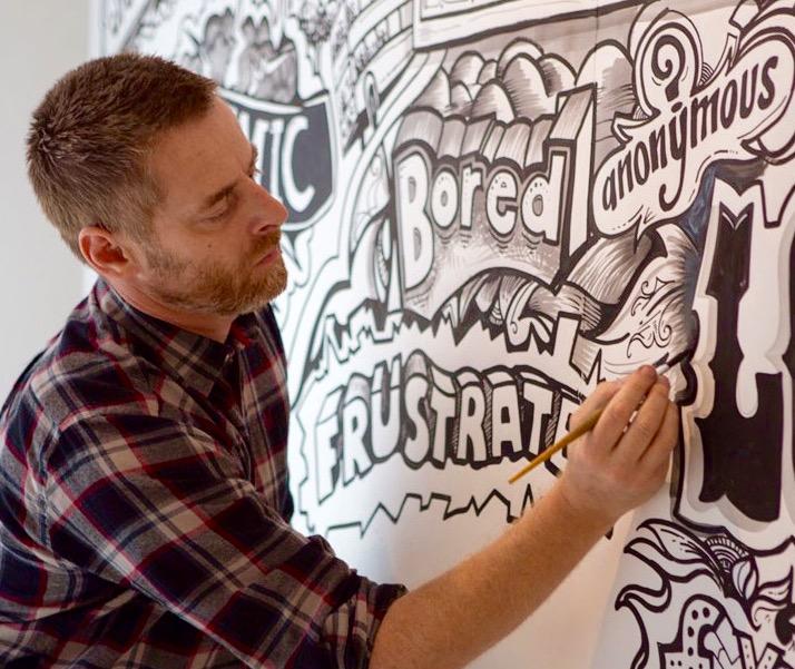Vic Lee, illustrator and designer