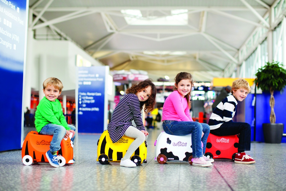 Children using Trunki cases, © Magmatic Limited