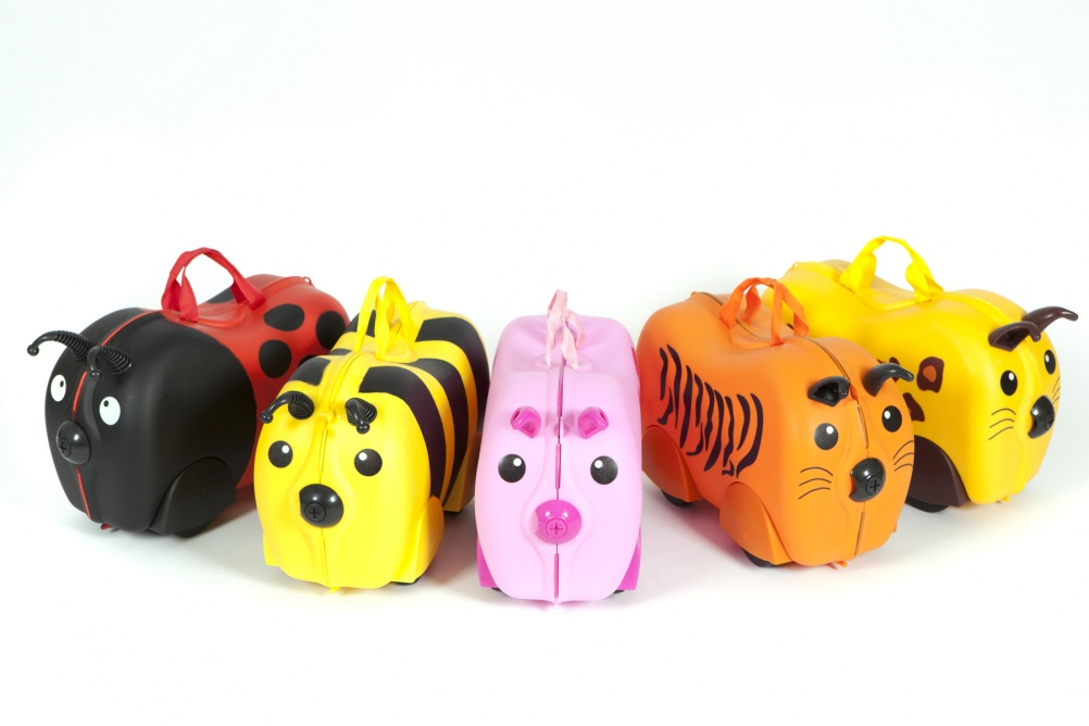Line-up of Kiddee cases, © PMS International Limited