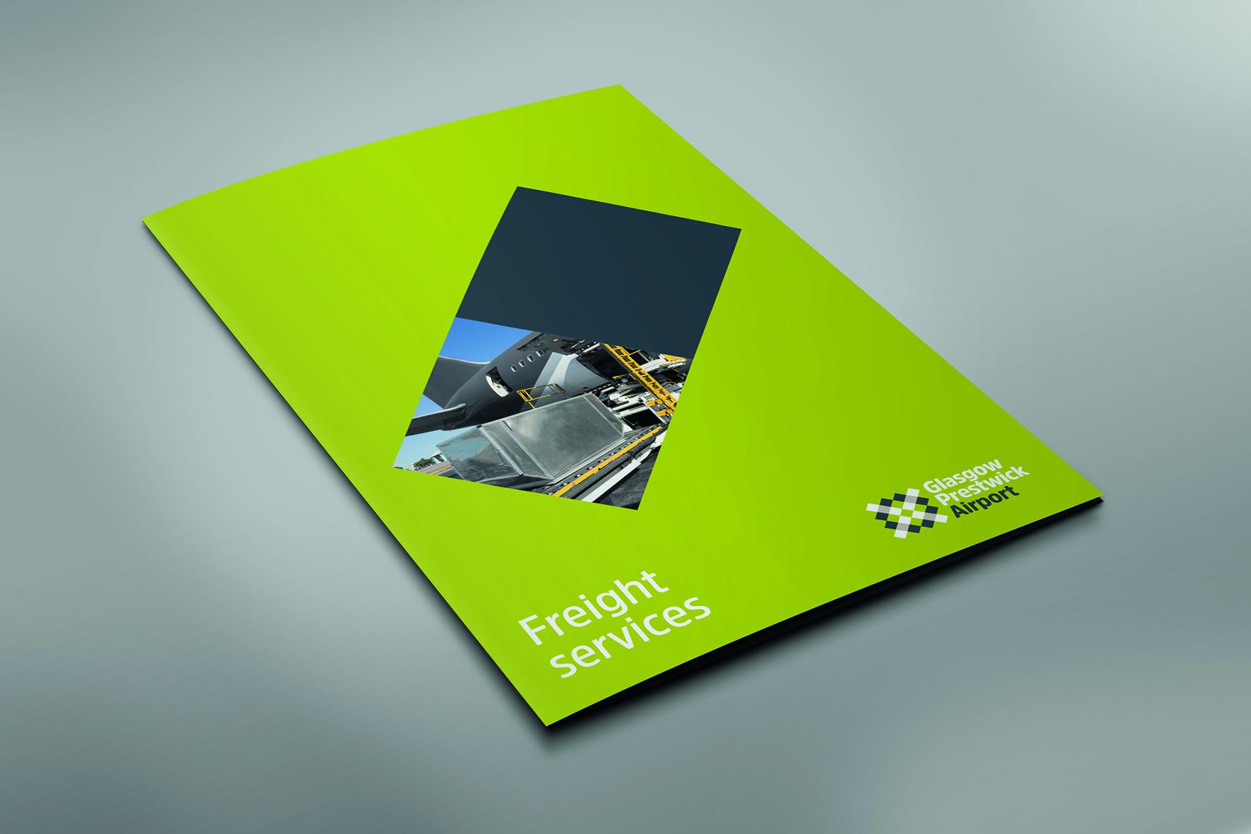 Corporate folder mockup