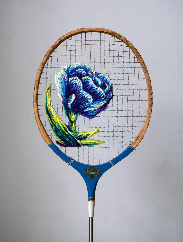 Danielle C - paper-flower-racket